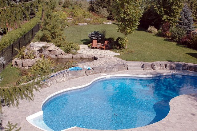 Gta swimming pool construction richmond hill aurora - Centennial swimming pool richmond hill ...